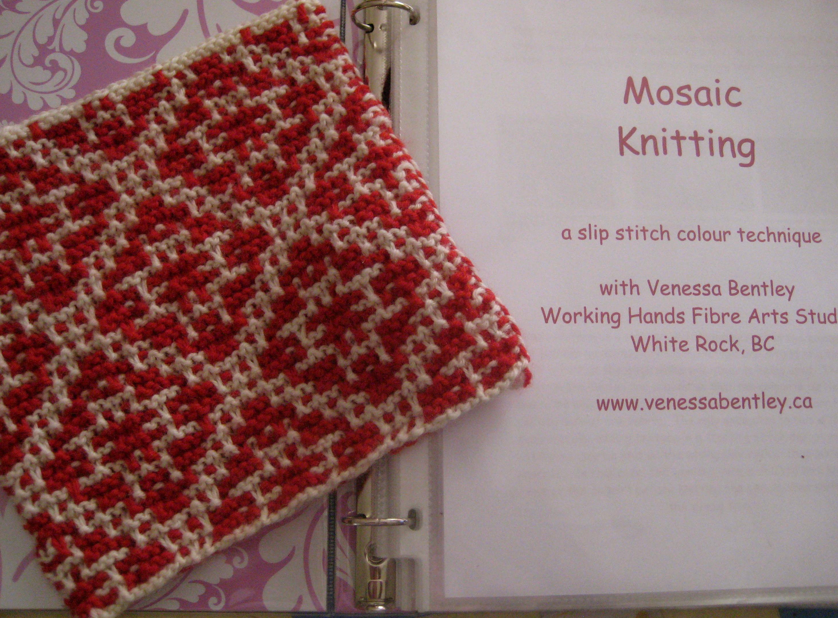 Mosaic Knitting Patterns : venessabentley.ca   Blog Archive   mesmerizing mosaics